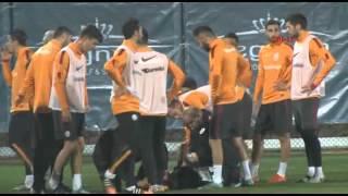 Galatasaray İdmanında Gergin Anlar.. (11.01.2016)
