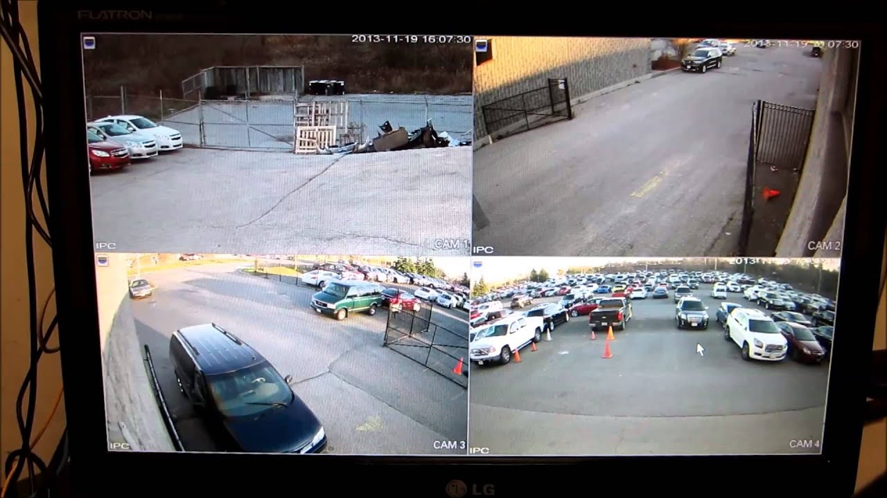Ip Camera Installation 1080p 2 Megapixel Security Camera