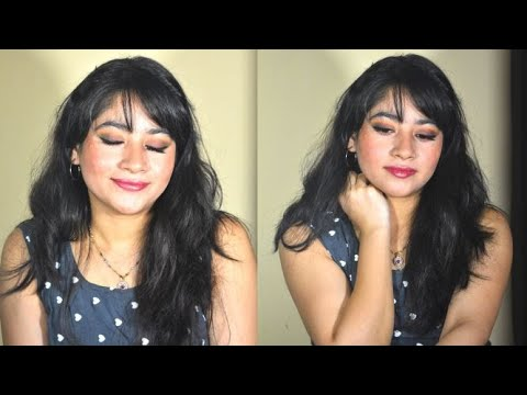 Dramatic smokey eyes makeup tutorial/How to/ for beginners/not so complicated/Fall/winter