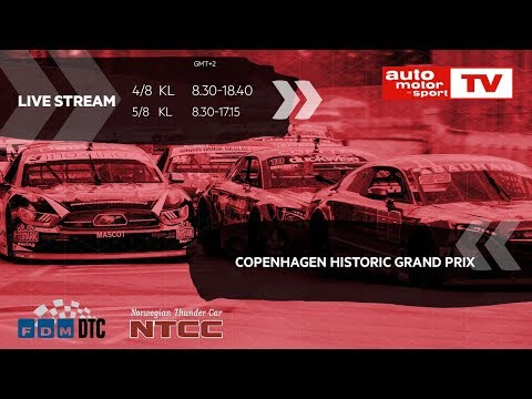 Copenhagen Historic Grand Prix 2018, Day 2