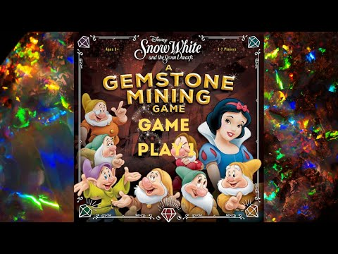 Snow White And The Seven Dwarfs: A Gemstone Mining Game: Game Play 1