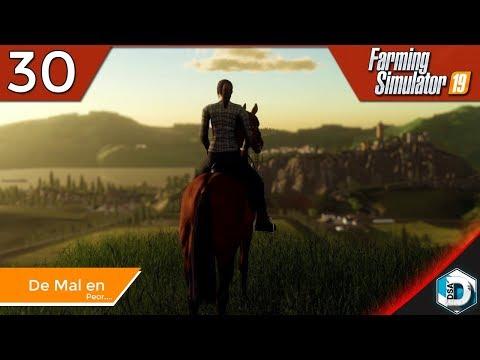 Farming Simulator 19 - La Granja de DSAINA - 30 De mal en peor... | Gameplay Español thumbnail