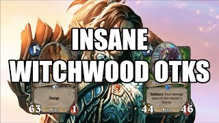 [Hearthstone] Insane OTKs with All Classes (Wild Witch Wood Edition)