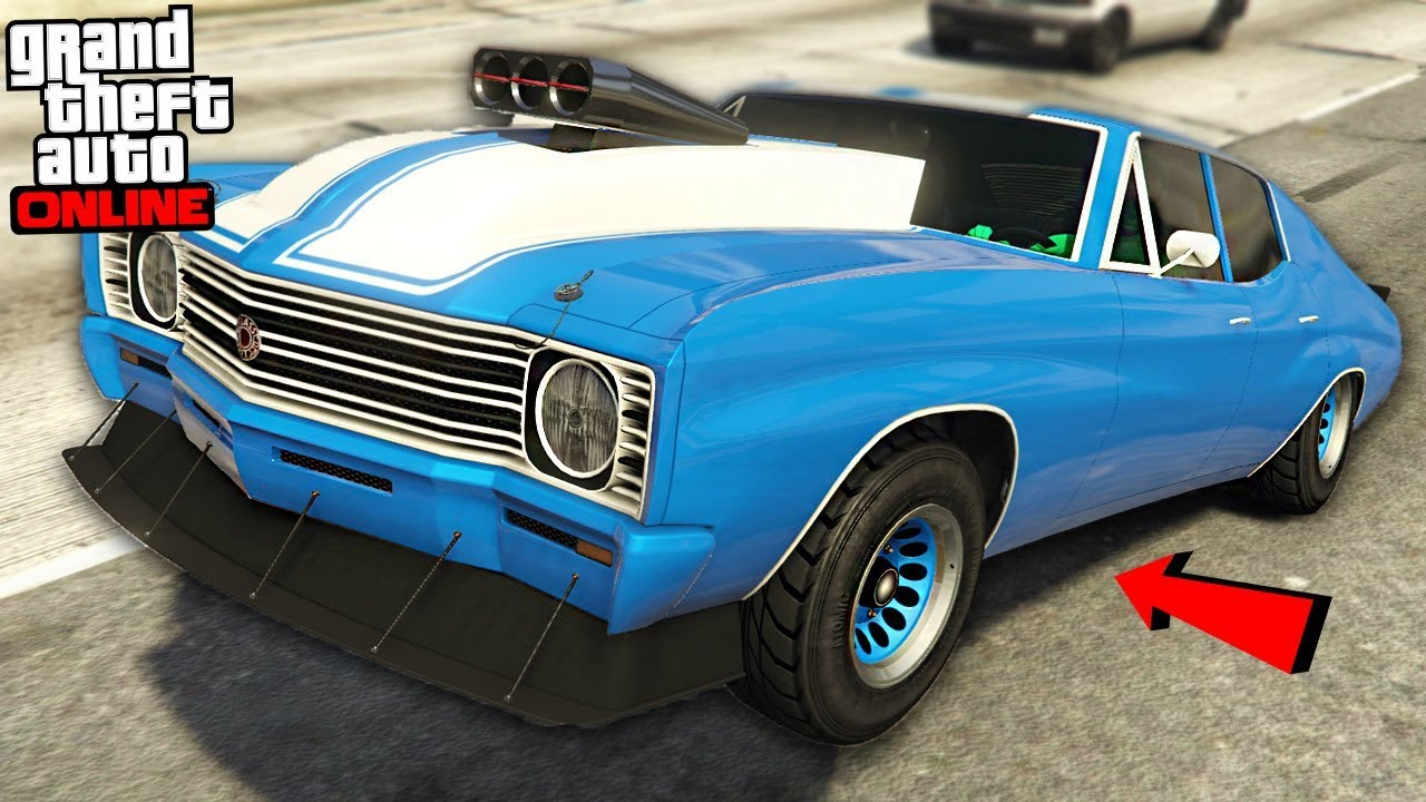 Newest And Greatest Muscle Car Gta Arena War Dlc Update Gta Online