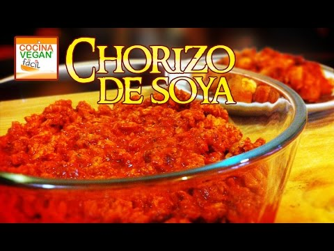 Chorizo De Soya Cocina Vegan Facil Youtube