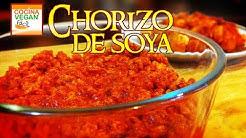 Chorizo de soya - Cocina Vegan Fácil