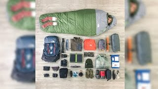 HIKING GEAR : The North Face Terra 50L Winter Loadout
