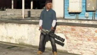 ★ GTA 5 - How To Get a Minigun!