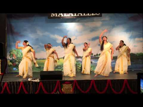 AZ Malayalees -2015 - Onam Dance - Stetson Valley Ladies