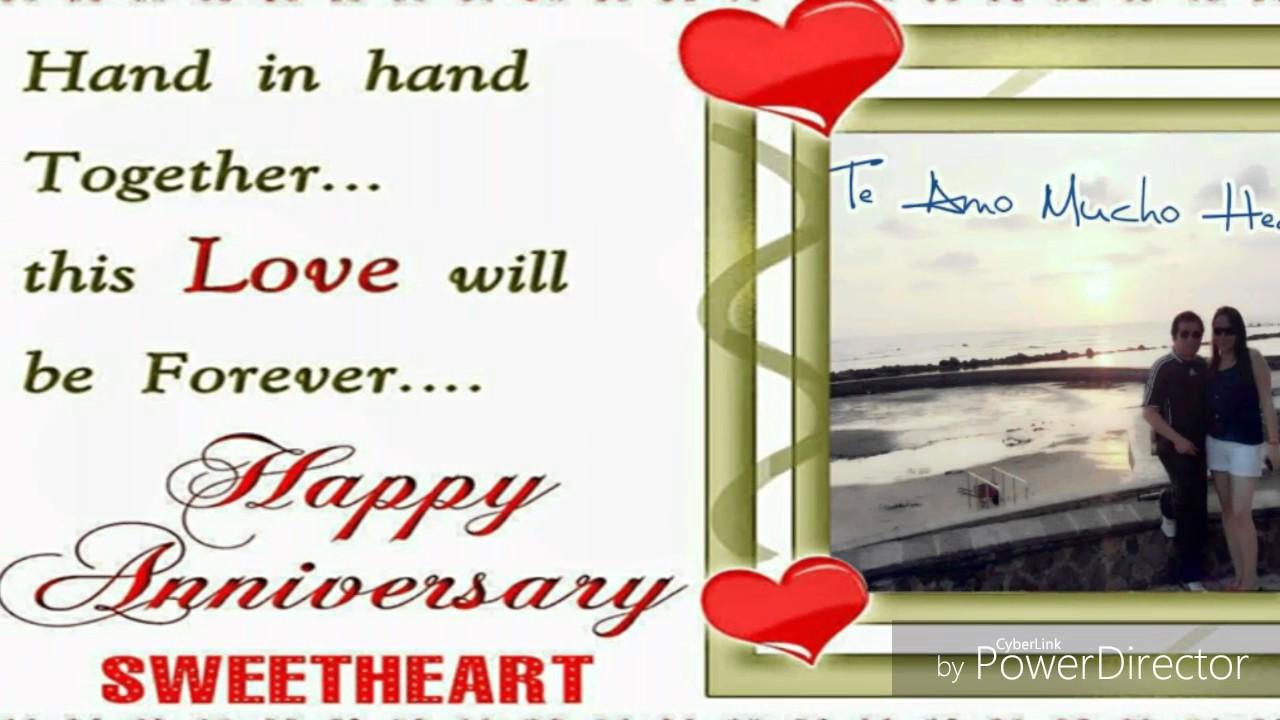 Feliz Aniversario Mi Amooor Te Amo Te Amo Te Amo: Feliz Aniversario Mi Amor Te Amo Mucho