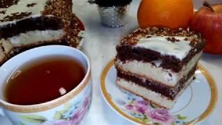 Пышный мягкий и нежный торт Сметанник