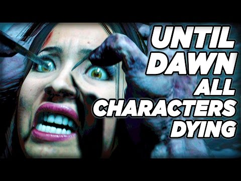 Thumbnail: Characters Deaths **SPOILERS!!!** - Until Dawn