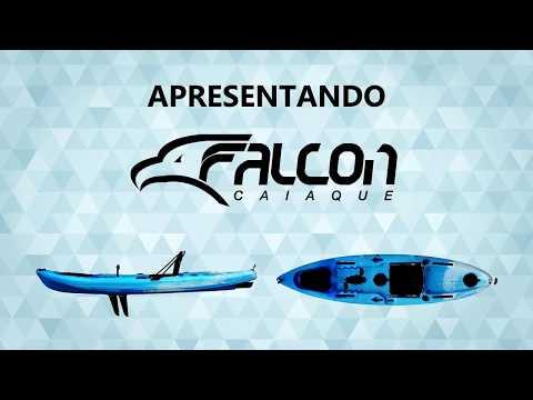 Falcon, o caiaque à pedal da Lontras - por Andre Sesquim