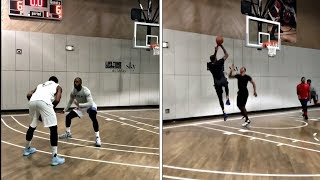 LeBron James, Kevin Durant, Carmelo Anthony ALL-STAR PICK UP GAME In NEW YORK CITY