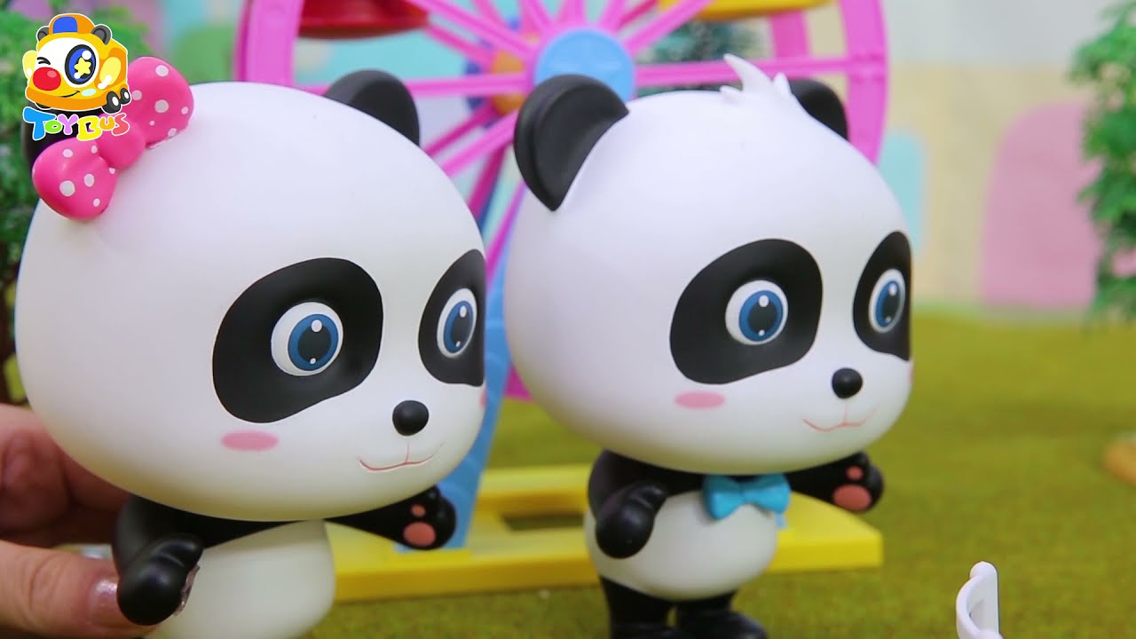 The Story Show   🐼 Kiki and Miumiu Defeated the Big Devil of Capsule Toy 👿 👹