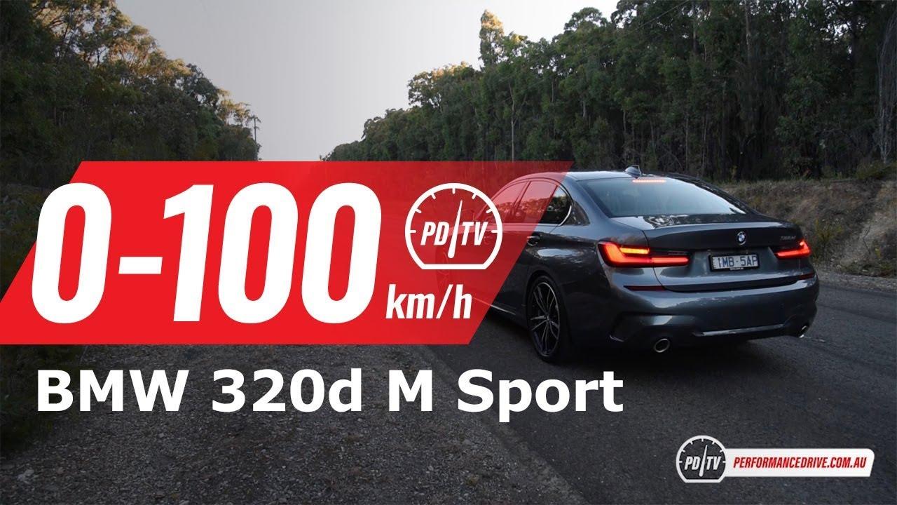 2019 bmw 320d g20 0 100km h engine sound