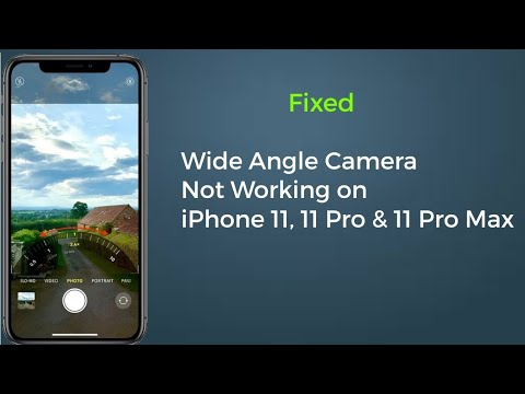 IPhone 11, 11 Pro & 11 Pro Max Wide Angle Camera Stopped Working In IOS 13.4 - Here's The Fix