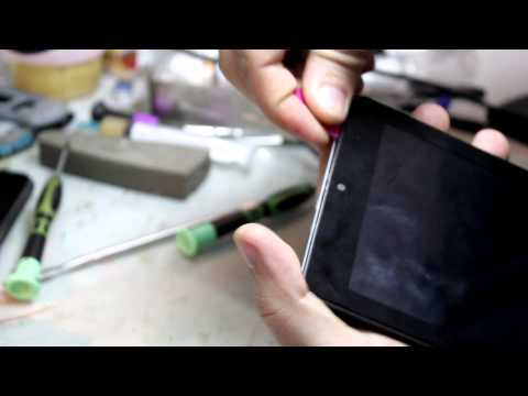Разборка планшета prestigio multipad pmp 5870c duo