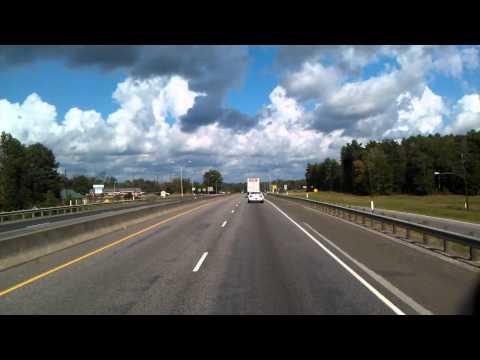Driving through Lufkin, Texas