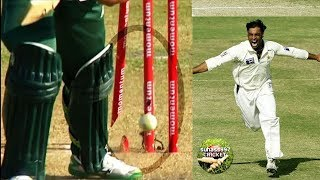 The fastest bowler ever ►►Shoaib Akhtar broken stumps compilation !!