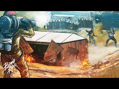 RUST - СРЫВ ПЛАНА РЕЙДЕРОВ! СКЛАД ВЗРЫВЧАТКИ! - SURVIVAL 72 СЕЗОН #1323
