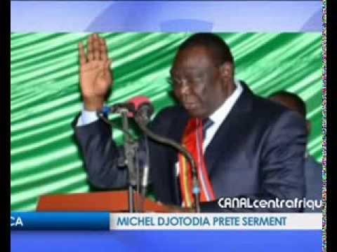 RCA: Michel DJOTODIA prête serment