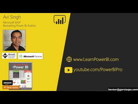 XL POWER HOUR: Microsoft PowerBi for Excel Power Users