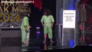 Maharaja Lawak Mega 2014 - Minggu 5 Jalor