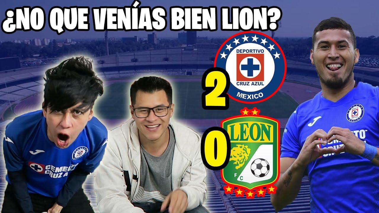 Reacciones Leon vs Cruz Azul JORNADA 3 GUARD1ANES