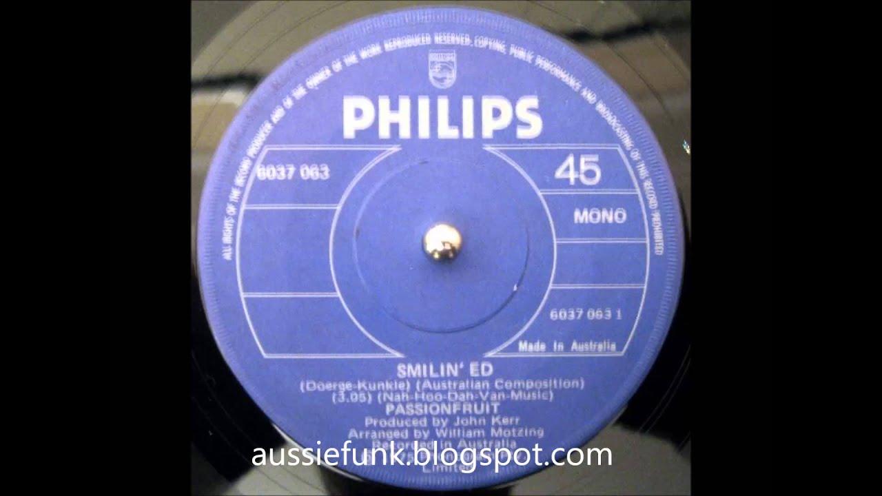 Passionfruit - Smilin' Ed (Rare Aussie Funk 45)