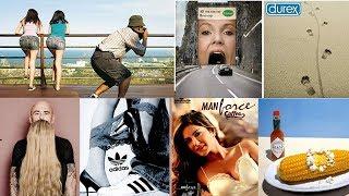 25 most creative advertisements ever made - guerrilla advertising ideas - creative ad Ideas 2018
