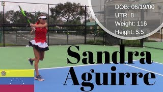 Sandra Aguirre College Recruitment Video