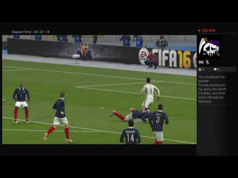 Germany vs France semifinal Euro 2016 Live PS4 Broadcast Livestream