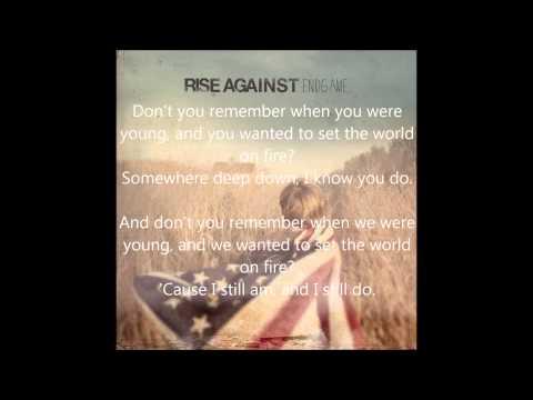 Rise Against - EndGame - Architect lyrics