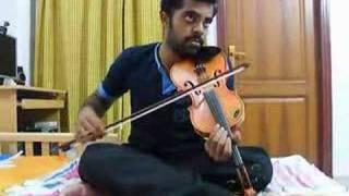 Allah Ke Bande in Violin by Subramoni Rengarajan
