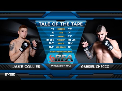 Fight of the Week: Jake Collier Punches His Ticket to the UFC