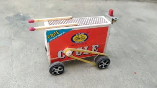 How to make a matchbox car at home | mini electric toy car | homemade car