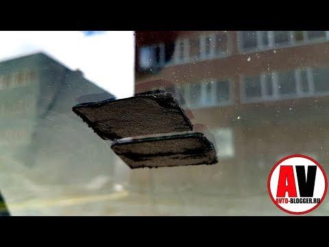 Как оттереть скотч от стекла