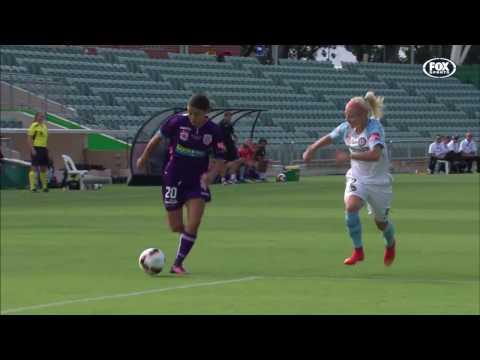 [HD] W-League Grand Final Perth Glory v Melbourne City 1st Half (12/02/17)