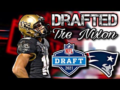 New England Patriots Draft WR Tre Nixon | 2021 NFL Draft