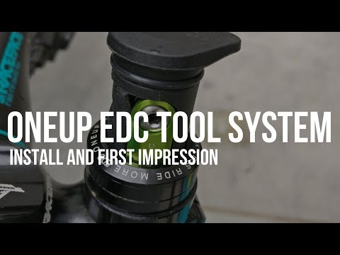 OneUp EDC Tool System | The James Bond of Bike Tools | Install and first impression Mp3