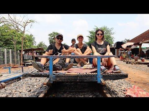 #3 Камбоджа. Бешеная тачанка. Культурные обезьяны и миллиард летучих мышей