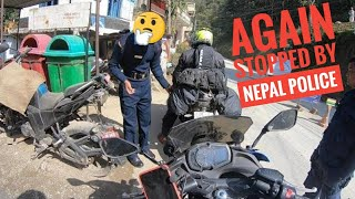Nepal Police Stopped us again | India to Nepal Day 3 | Butwal to Pokhara |