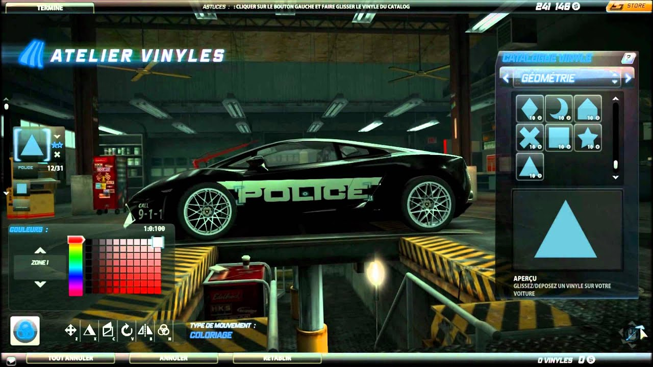 Nfs World Cop Lamborghini Gallardo Hot Pursuit Tuning