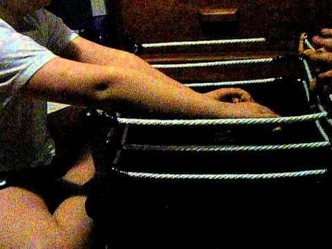 My Homemade WWE figure wrestling ring