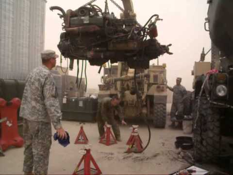 Military mechanic - YouTube