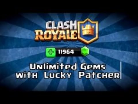 How To Hack Clash Royale  using Gem hack Guide  Lucky Patcher