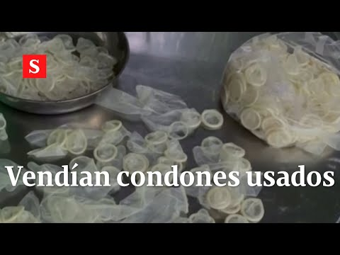 Allanan almacén que vendía condones usados en Vietnam | Videos Semana