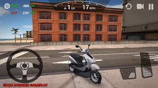 Ultimate Motorcycle Simulator #1 - Special Edition Scooter Unlocked | Airport| Android GamePlay FHD
