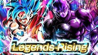 YOU GUYS WERE RIGHT! Double SSJ3 GOKU ANIMATION | Dragon Ball Legends